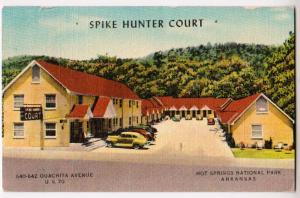 Spike Hunter Court, Hot Springs National Park Ark
