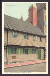 Paul Revere House,Boston,MA Detroit Publishing