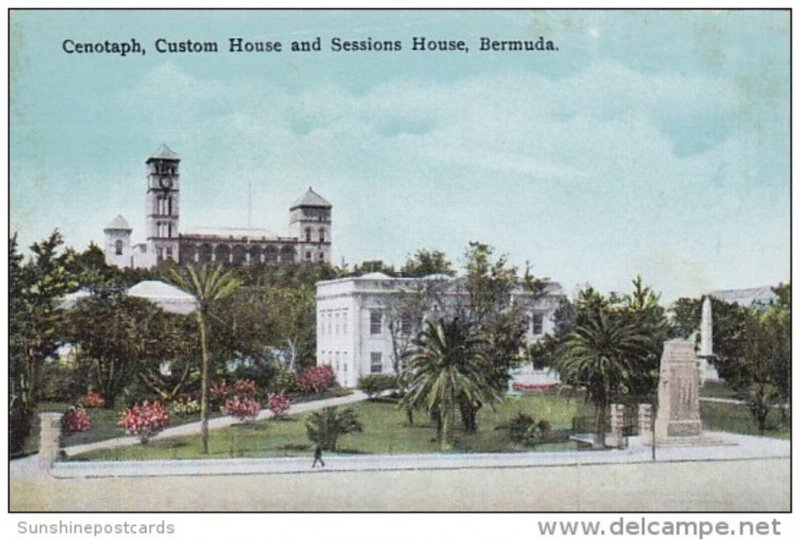 Bermuda Cenotaph Custom House and Sessions House