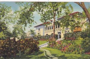 Florida Miami Beautiful Florida Estate In Coconut Grove Curteich