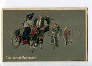 288378 CONTINENTAL PNEUMATIC Cycle bicycle Vintage ADVERTISING