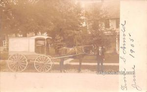 Horse and Carriage Monroe NY Writing on back