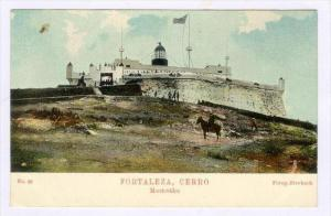 Montevideo , Uruguay, 1890s-1905  Fortaleza, Cerro (LIGHTHOUSE)