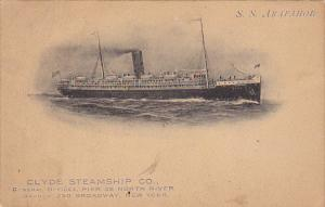 Clyde Steamship Company S S Arapahoe Albertype
