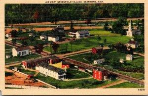 Michigan Dearborn Greenfield Village Aerial View