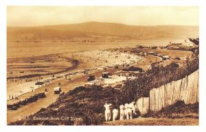 Nostalgia Postcard Devon Exmouth from Cliff Slopes c1930 Reproduction Card NS34