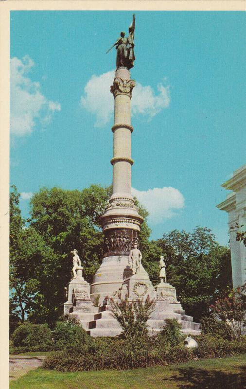 MONTGOMERY, Alabama, 1940-60s ; CSA monument