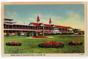 Grand Stand at Churchill Downs, Louisville Ky