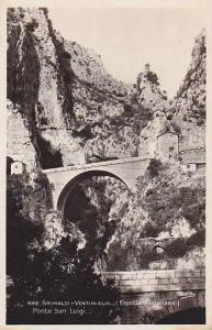 RP, Ponte San Luigi, Frontiera Italiana, Grimaldi- Ventimiglia, Italy, 1920-1...