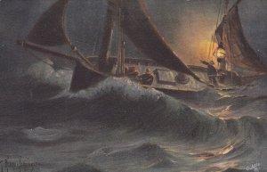 FISHING ; With the North Sea Fishing Fleet , 1907 ; 4/6 ; TUCK 2721