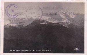 France Lourdes Vue prise du Pic du Jjer vers le Pic du Midi 1933 Photo