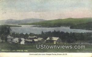 Newfound Lake, Sleeper Farm Bristol NH 1917