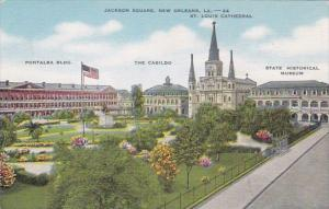 Louisiana New Orleans Jackson Square