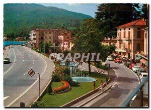 Postcard Modern Ponte Tresa Lake Lugano