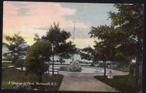Nova Scotia YARMOUTH A Glimpse in Park MacFarlane Private PC Divided Back