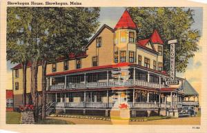 9954   ME Skowhegan 1920's   Skowhegan House