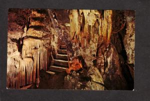 AZ Colossal Caves Cave Tucson Arizona Postcard Walkways Caverns