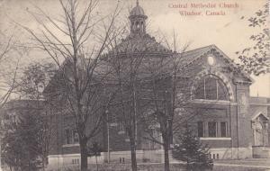 Central Methodist Church #1 , WINDSOR , Ontario , Canada , PU-1906