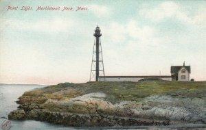 MARBLEHEAD NECK , Massachusetts , 1901-07 ;Point LIGHTHOUSE