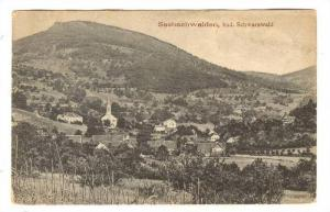 Panorama, Sasbachwalden, Bad Schwarzwald (Baden-Württemberg), Germany, PU-1924