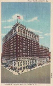 LOUISVILLE , Kentucky , 1950 ; Brown Hotel