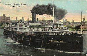 Steamer Western States, D & C line