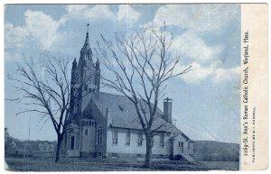 Wayland, Mass, St. Ann's Roman Catholic Church