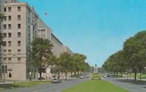 Elgin Street with its Lawn Boulevard, Ottawa, Ontario, Canada, 40´s-60´s