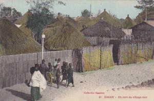 Senegal Dakar Un Coin du Village Noir