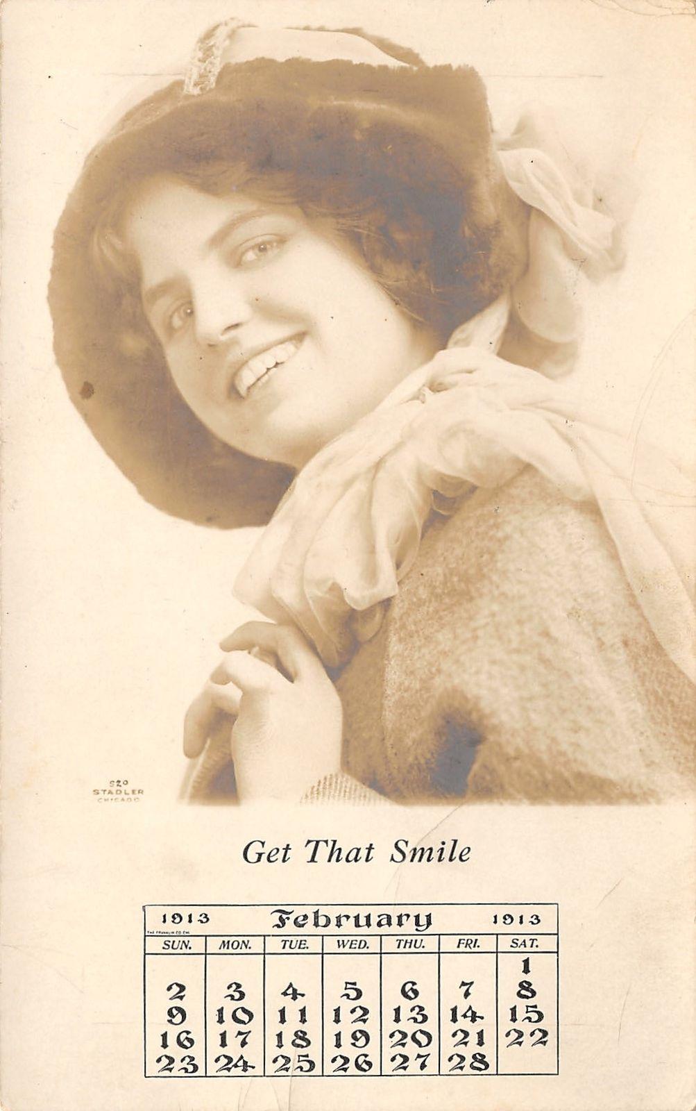 Chicago IL~EA Dayton Wholesale Jewelers~February Girl~1913