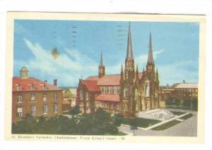 St. Dunstan's Cathedral, Charlottetown, Prince Edward Island, Canada, PU-1955