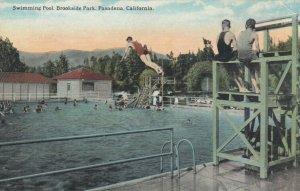 PASADENA, California, 1900-10s; Swimming Pool , Brookdale Park