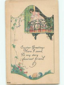 Divided-Back PRETTY WOMAN Risque Interest Postcard AA8049
