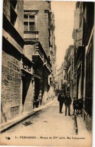 CPA PÉRIGUEUX-Rue Limogeanne (233459)