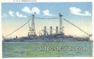 USS Ohio Military Battleship Unused