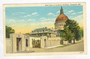 Main Gate, U.S. Naval Academy, Annapolis, Maryland, PU-1941