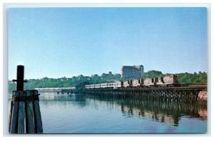 Postcard Grand Trunk 470 Railroad Club 15th Annual Trip, Portland Maine 1975 A10