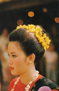 Thailand Chiengmai Beautiful Girl A Chiengmai Beauty 1983