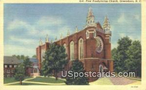 First Presbyterian Church Greensboro NC Unused