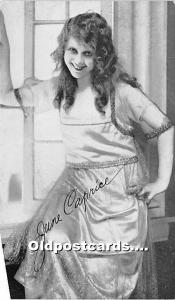 June Caprice Theater Actor / Actress Unused
