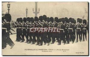 Old Postcard Funerals of Marechal Foch L & # 39armee Columbia