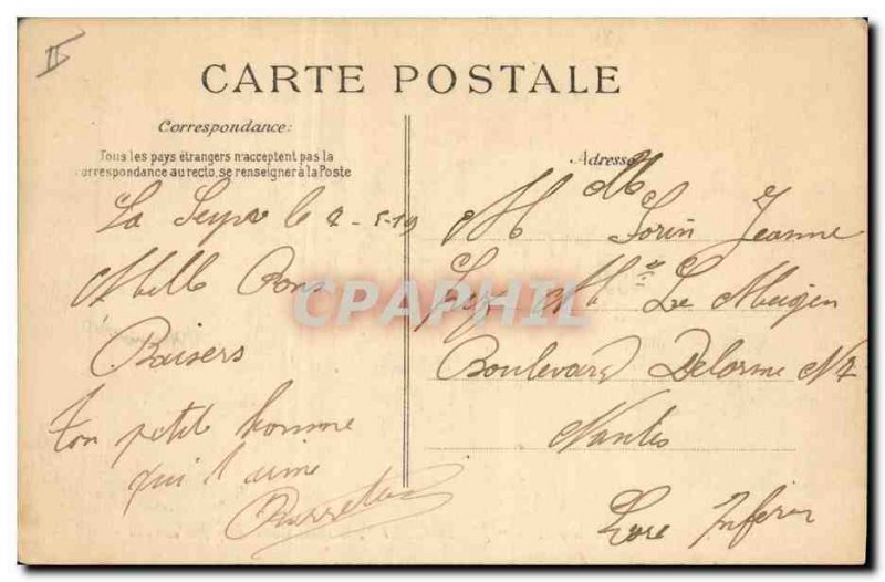 Postcard Old Ferry Boat Cruiser Jules Breastplate
