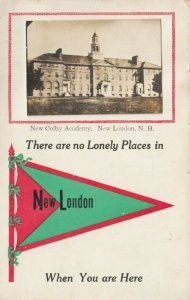 RP; NEW LONDON , New Hampshire , 1900-10s ; New Colby Academy