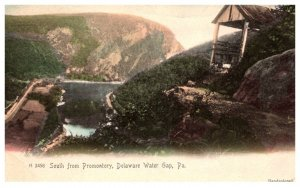 Pennsylvania Delaware Water Gap,  South from Promontory
