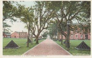 PENSACOLA , Florida, 1900-10s; Central Avenue , U.S. Navy Yard