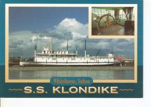 Postal 042022 : S.S. Klondike. Whitehorse Yukon