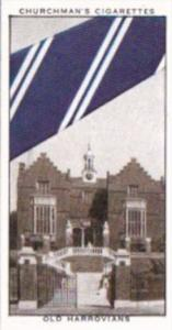 Church Vintage Cigarette Card Well Known Ties No 25 Old Harovians