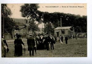 205272 FRANCE AVIATION Villacoublay airfield Basle #1 old