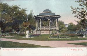 Band Stand , Public Gardens , HALIFAX , Nova Scotia , Canada , 00-10s