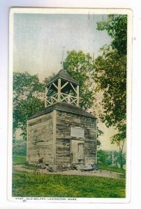 Detroit, Michigan to Duluth, Minnesota 1934 used Postcard, Old Belfry, Lexington